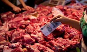 Meat and climate change : butcher in China